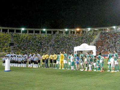 eaa34cfae5 CBF confirmou mudança por conta do show da cantora Ariana Grande no Allianz  Parque. Não será em 2017 que Palmeiras e Grêmio se enfrentarão pela ...
