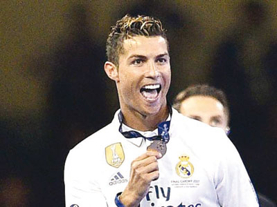 Classificação do Real marca recorde de CR7