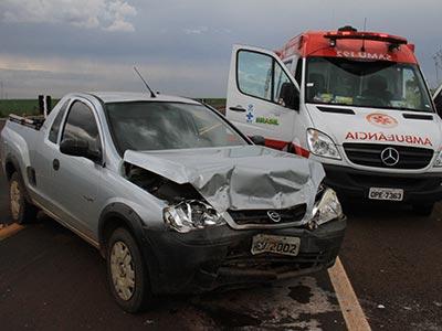 Duas pessoas ficam feridas em colisão frontal na rodovia 262 - Jornal da Manhã - Uberaba