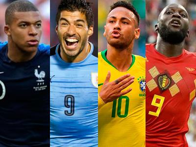 Resultado de imagem para Brasil e Bélgica buscam vaga na semifinal; França encara o Uruguai