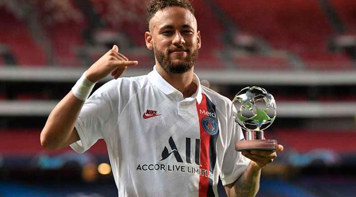 Neymar Jr Está Na Lista De Candidatos Ao Prêmio De Destaques Da Liga Dos  Campeões Da Uefa Jornal Da Manhã - 48 Anos