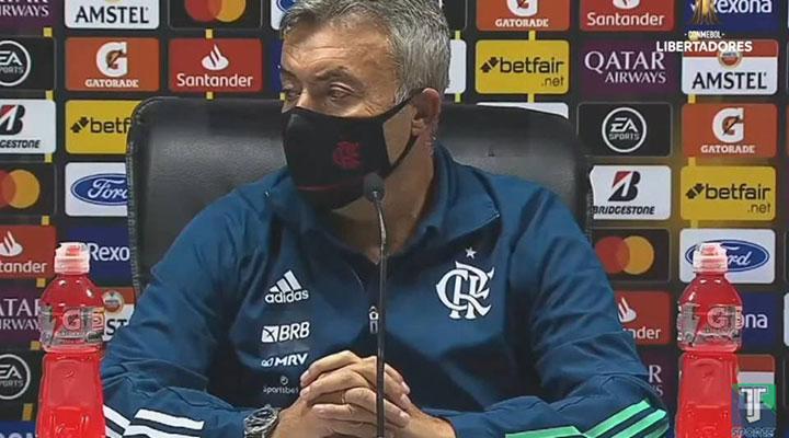 Dome volta atenção do Fla para o Inter, mas afirma: Campeonato não acaba